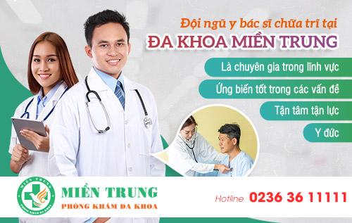 Bác sĩ chữa trĩ tại Phòng khám Đa khoa Miền Trung